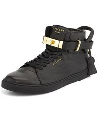 sale manchester great sale footlocker pictures cheap online Buscemi High-Top Padlock Sneakers w/ Tags Q7d4D