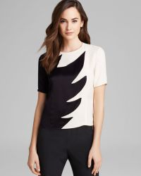 Marc By Marc Jacobs Top Flame Crepe Silk - Lyst