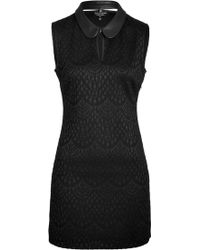 Juicy Couture Bonded Lace Dress - Lyst