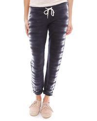 Monrow Fish Bone Tie Dye Vintage Sweatpants - Lyst