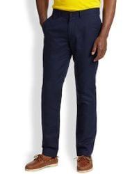 Polo Ralph Lauren Briton Straight-Fit Twill Pants - Lyst