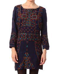 Antik Batik Trapezium Dress  Donia1mdr - Lyst