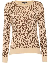 Therapy | Leapard Print Jumper | Lyst