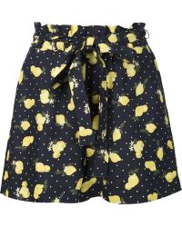 Piamita - Clemence Lemon Shorts - Lyst