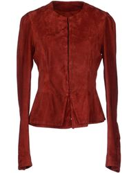 Roberta Furlanetto - Leather Outerwear - Lyst