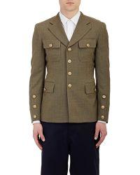 Comme des Garçons Deconstructed Military Sportcoat - Lyst