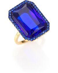 Michael Kors | Parisian Jewels Cushion Cocktail Ring | Lyst