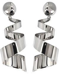 Marni - Ribbon Oversize Earrings - Lyst