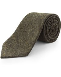 Racing Green - Loxley Plain Wool Blend Tie - Lyst