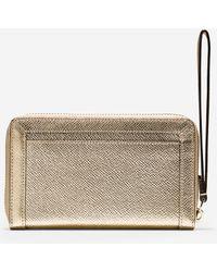 Cole Haan | gold Eva Smart Phone Wallet | Lyst