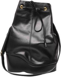 A'n'd | Wedge Leather Bag | Lyst