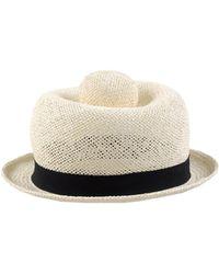 Henrik Vibskov Hat in Natural - Lyst 980e36c9c22a