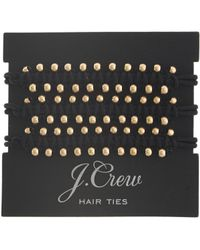 J.Crew Beaded Hair Ties - Lyst