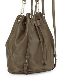 Elizabeth And James Cynnie Leather Tassel Backpack - Lyst