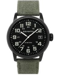 Szanto - Canvas Strap Watch - Lyst