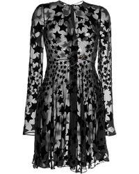 Sonia Rykiel Dress In Star Devore - Lyst