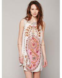 Free People Womens Fp New Romantics Gujakat Goddess Dress - Lyst