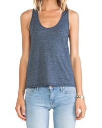 Velvet By Graham & Spencer Wendie Heather Blend Knit Tank - Lyst