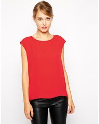 Oasis Woven Shell Top - Lyst