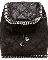 Stella McCartney Mini Quilted Backpack - Lyst