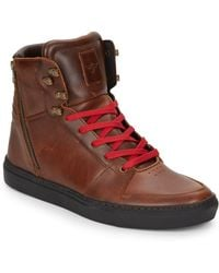 Creative Recreation Adonis Leather Sneakers brown - Lyst
