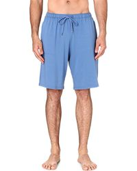 Derek Rose Basel Jersey Shorts Dutch Blue - Lyst