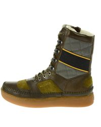 Alexander McQueen X Puma - Joust Leather and Suede Boots - Lyst