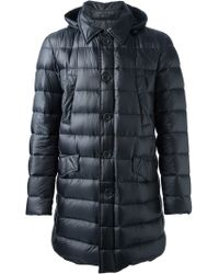 Herno B Padded Coat - Lyst