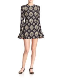 Dolce & Gabbana Sacred Heart Cady Dress black - Lyst
