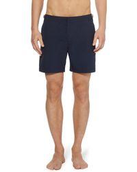 Orlebar Brown Bulldog Mid-Length Swim Shorts - Lyst