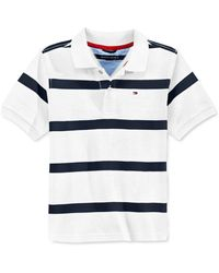Tommy Hilfiger Boys' Clubhouse Stripe Polo white - Lyst