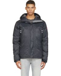 Canada Goose - Black Mountaineer Down Jacket - Lyst