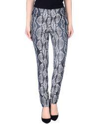 Donna Karan New York Casual Trouser - Lyst