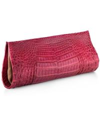 Anne Sisteron - Crocodile As Clutch - Lyst