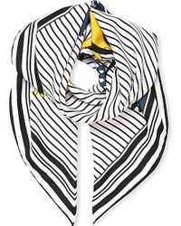 Loewe Striped Meccano Scarf - Lyst