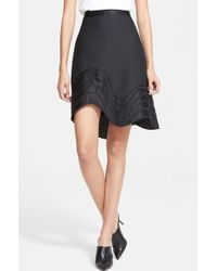 3.1 Phillip Lim Embroidered Detail A-Line Skirt - Lyst