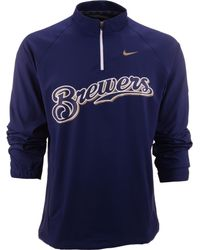 Nike Mens Milwaukee Brewers Hot Corner Jacket - Lyst