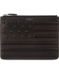 Givenchy Stars And Stripes Zipped Pouch - For Men - Lyst