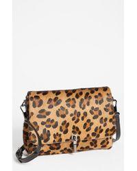 Elizabeth And James Mini Leopard-Print Cross-Body Bag - Lyst