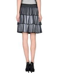 Alaïa Knee Length Skirt - Lyst
