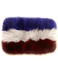 Marni Tri-colour Fox-fur Snood - Lyst