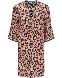Matthew Williamson Leopard Spot Smock Top - Lyst