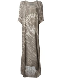 Raquel Allegra Loose Fit Tie-Dye Dress - Lyst