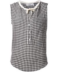 Altuzarra Check Tank Top - Lyst