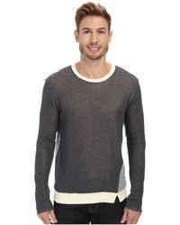 Joe's Jeans Double Sweater Knit Ace Long Sleeve Crew - Lyst