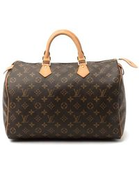Louis Vuitton Pre-Owned Speedy 35 - Lyst