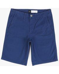 RVCA Saya Shorts blue - Lyst