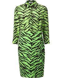 Moschino Cheap & Chic Zebra Print Dress - Lyst