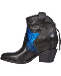 Ash Boots Mars Cow Plongepony - Lyst
