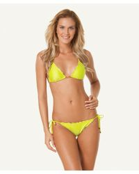 ViX Solid Acid Ripple Tie Side Bottom yellow - Lyst